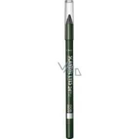 Rimmel London Scandaleyes Waterproof Kohl Kajal tužka na oči 006 Green 1,3 g