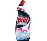 Bref 10x Effect Power gel Max White Arctic tekutý WC čistič proti vodnímu kameni 700 ml