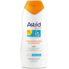 Astrid Sun OF15 Hydratační mléko na opalování 200 ml