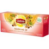 Lipton Warm Me Up ovocný aromatizovaný čaj s kořením 20 nálevových sáčků 36 g