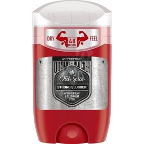 Old Spice Strong Slugger antiperspirant deodorant stick pro muže pro muže proti pachu a potu na 48 hodin 50 ml