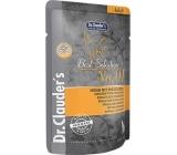 Dr. Clauders Best Selection No. 1 Kuřecí maso s brusinkami kompletní krmivo s kousky masa pro kočky kapsička 85 g