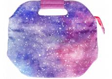 Albi Original Svačinová cestovní taška Vesmír uchová potraviny déle teplé/studené 14,5 x 22 x 26,5 cm