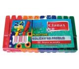Clanax Plastové kolíčky na prádlo 24 kusů