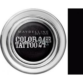 Maybelline Color Tattoo 24h oční stíny 60 Timeless Black 4 g