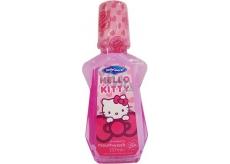 Hello Kitty Jahoda ústní voda pro děti 237 ml