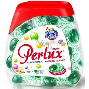 Perlux Color gelové kapsle na praní barevného prádla 24 kusů