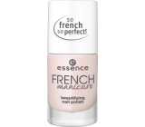 Essence French Manicure Beautifying Nail Polish lak na nehty 02 Frenchs Are Forever 10 ml