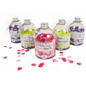 Albi Relax Konfety do koupele s vůní Růže Novomanželům