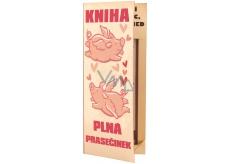 Bohemia Gifts & Cosmetics Kniha plná prasárniček sprchový gel 250 ml