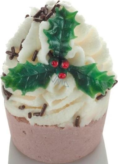 Bomb Cosmetics Cesmína - Hollybabs hnědý košíček Špalíček do koupele 50 g