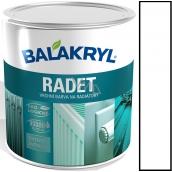 Balakryl Radet 0100 Bílý Lesk vrchní barva na radiátory 0,7 kg