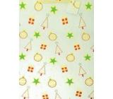 Nekupto Dárková papírová taška největší 46 x 33 x 10,5 cm Vánoční 036 12 GXL