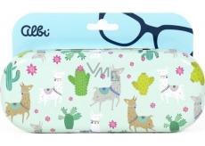 Albi Original Pouzdro na brýle plechové Lamy 15,7 x 6,2 x 3,2 cm