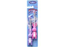 Beauty Formulas Active Zajíc měkký zubní kartáček pro děti 3-6 let 2 kusy