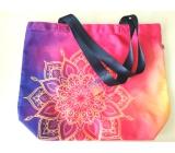 Albi Original Plátěná taška velká Mandala 40 cm x 38 cm, délka ucha 25 cm