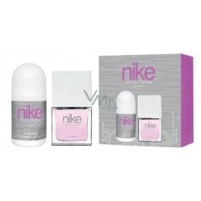 Nike Sensaction Edition for Woman toaletní voda pro ženy 30 ml + kuličkový deodorant roll-on 50 ml, dárková sada