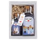 Bohemia Gifts & Cosmetics Domácí lázně - Levandule sprchový gel 250 ml + sůl do koupele 110 g, kosmetická sada