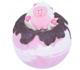Bomb Cosmetics Prasátko Pepa - Piggy In The Middle Šumivý balistik do koupele 160 g