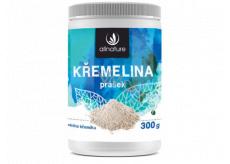Allnature Křemelina prášek napomáhá detoxikaci organismu, doplněk stravy 300 g