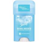 Secret Natural Unscented krémový antiperspirant stick pro ženy 40 ml