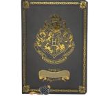 Epee Merch Harry Potter Bradavické koleje Blok A5 21 x 14,8 cm premium černý