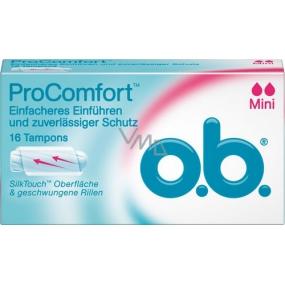 o.b. Pro Comfort Mini tampony 16 kusů