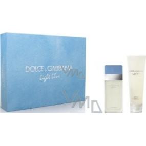 Dolce & Gabbana Light Blue toaletní voda 25 ml + tělový krém 50 ml, pro ženy dárková sada
