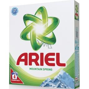 Ariel Mountain Spring prací prášek pro čisté a voňavé prádlo bez skvrn 4 dávky 280 g