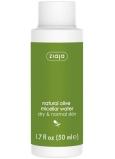 Ziaja Oliva micelární voda pro suchou a normální pokožku 50 ml cestovní balení