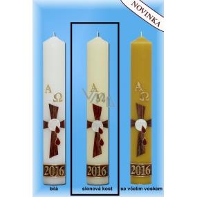 Lima Paškál Luxus svíčka slonová kost 60 x 400 mm 1 kg 1 kus