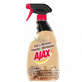 Ajax Oven & Microwave Trouba a mMikrovlnka čisticí prostředek rozprašovač 500 ml