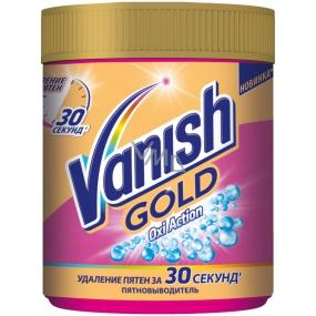 Vanish Gold Oxi Action Pink odstraňovač skvrn prášek 625 g