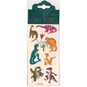 Tetovací obtisky dětské zvířátka T4P023H 7,5 x 15 cm