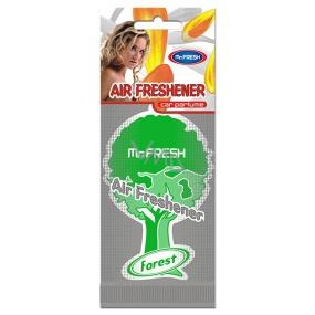 Mister Fresh Car Parfume Forest osvěžovač vzduchu závěsný 1 kus