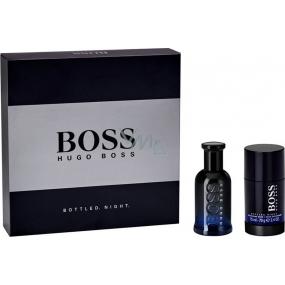 Hugo Boss Boss Bottled Night toaletní voda pro muže 50 ml + deodorant stick 75 ml, dárková sada