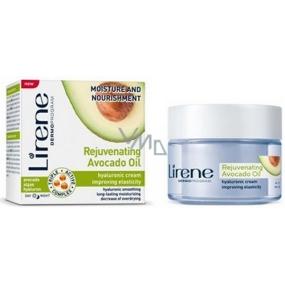 Lirene Rejuvenating Avocado Oil Hydratace a výživa avokádový olej den/noc hyaluronový krém 50 ml