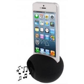 Albi Reproduktor na mobil vajíčko černý 8 x 5,5 x 5 cm