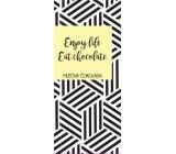 Albi Dárková mléčná čokoláda Enjoy Life Eat Chocolate 50 g 14 x 6 cm