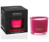Millefiori Natural Grape Cassis - Hrozny a černý rybíz Vonná svíčka hoří až 60 hodin 180 g