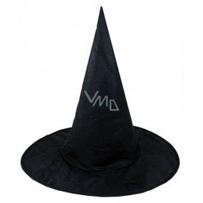 Klobouk černý čarodějnický pro dospělé