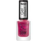 Dermacol 5 Day Stay Gel Effect dlouhotrvající lak na nehty s gelovým efektem 30 Chanson 12 ml