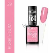 Revers Solar Gel gelový lak na nehty 29 Bubble Gum 12 ml