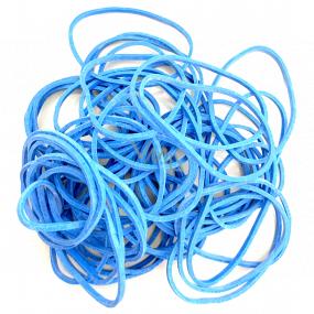 Gumičky modré střední 20 g 619