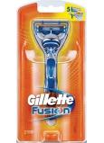 Gillette Fusion holicí strojek + náhradní hlavice 2 kusy