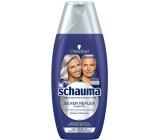 Schauma Silver Reflex šampon pro obarvenou blond, šedivé nebo bílé vlasy, proti žlutým tónům 250 ml