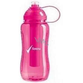 Rexona Sportovní plastová láhev s chladící vložkou růžová 500 ml