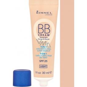 Rimmel London BB Cream 9v1 Skin Perfecting Super make-up BB krém 001 Light 30 ml