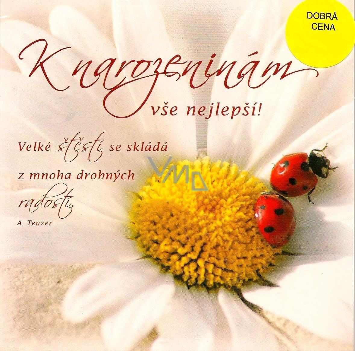 www blahopřání k narozeninám Nekupto Přání k narozeninám 2 berušky   VMD parfumerie   drogerie www blahopřání k narozeninám