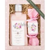 Bohemia Gifts Victorian Style sprchový gel 200 ml + ručně vyráběné mýdlo 30 g, kosmetická sada